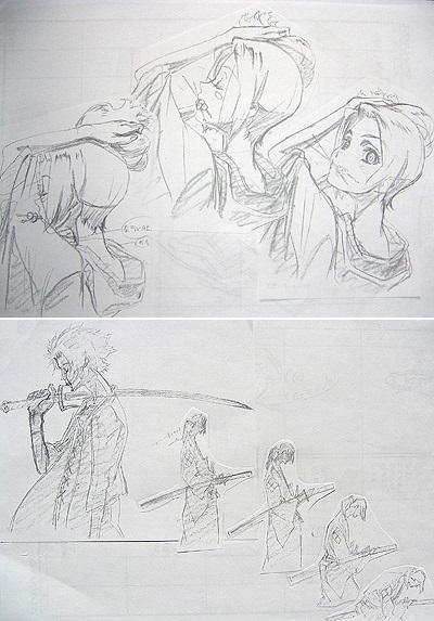 genga samurai_champloo takeshi_koike