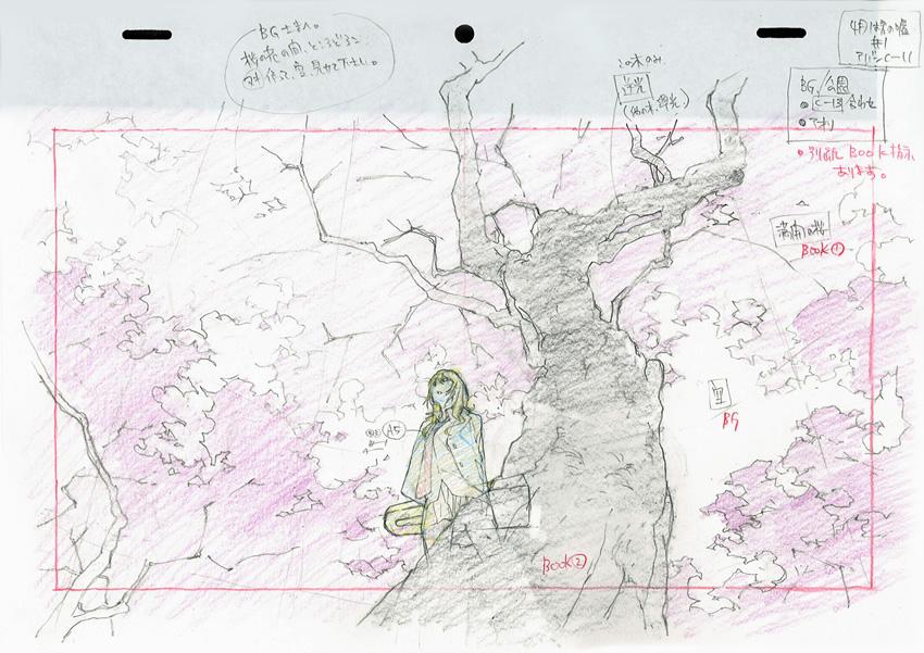 layout megumi_kouno production_materials shigatsu_wa_kimi_no_uso