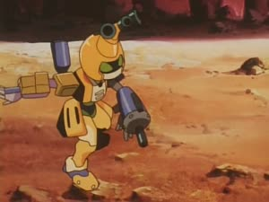 Rating: Safe Score: 38 Tags: animated beams effects fighting hirofumi_suzuki mecha medarot presumed User: PurpleGeth