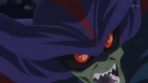 Rating: Safe Score: 56 Tags: animated character_acting disk_wars_avengers effects fighting naotoshi_shida smoke User: Jupiterjavelin