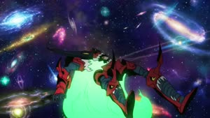 Rating: Safe Score: 49 Tags: animated effects fighting mecha shingo_natsume tengen_toppa_gurren_lagann User: Disgaeamad