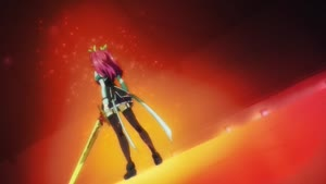 Rating: Safe Score: 7 Tags: animated artist_unknown debris effects fighting fire hair kenichi_takase presumed rakudai_kishi_no_cavalry User: PaleriderCacoon
