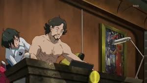 Rating: Safe Score: 10 Tags: animated gundam gundam_g_no_reconguista presumed shingo_tamagawa smears User: Feez