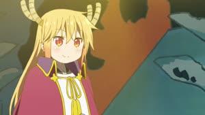 Rating: Safe Score: 9 Tags: animated artist_unknown character_acting effects fabric kobayashi-san_chi_no_maid_dragon wind User: Ashita