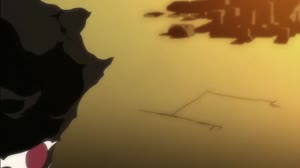 Rating: Questionable Score: 57 Tags: afro_samurai animated background_animation effects fighting hair impact_frames keisuke_watabe running smoke sparks User: noots_
