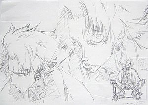 Rating: Safe Score: 38 Tags: genga samurai_champloo takeshi_koike User: SASMf_1122