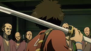 Rating: Safe Score: 9 Tags: animated artist_unknown effects fighting liquid samurai_champloo User: ken