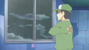 Rating: Safe Score: 8 Tags: animated artist_unknown character_acting effects fire nichijou smoke sparks User: Ashita
