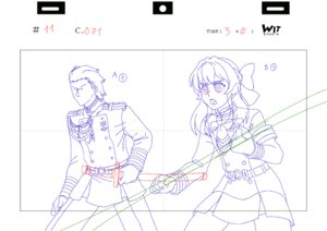Rating: Safe Score: 59 Tags: achille_bibard animated genga owari_no_seraph production_materials User: antocorr