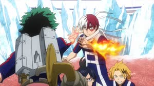 Rating: Safe Score: 2 Tags: animated artist_unknown character_acting effects fire my_hero_academia User: Ashita