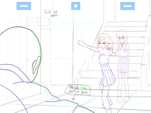 Rating: Safe Score: 33 Tags: animated genga hero production_materials to_be_hero to_be_heroine User: MMFS
