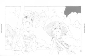 Rating: Safe Score: 3 Tags: illustration jun_uemura the_idolm@ster User: Disgaeamad