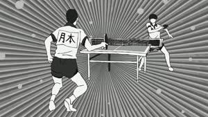 Rating: Safe Score: 48 Tags: animated black_and_white ping_pong presumed sports yasunori_miyazawa User: Ashita