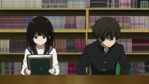 Rating: Safe Score: 63 Tags: animated character_acting hyouka presumed tatsuya_satou User: Ashita