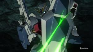 Rating: Safe Score: 15 Tags: animated beams effects fighting gundam mecha mobile_suit_gundam_twilight_axis presumed shingo_abe smoke sparks User: Ashita