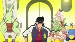 Rating: Safe Score: 25 Tags: animated artist_unknown creatures fighting food running space_dandy User: liborek3