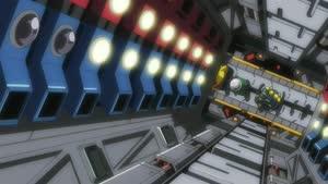 Rating: Safe Score: 9 Tags: animated effects gattai henkei koutetsushin_jeeg lightning mecha munetaka_abe presumed sparks User: YGP