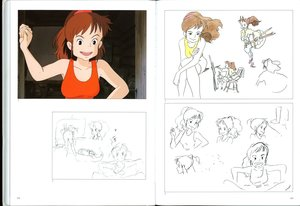 Rating: Safe Score: 9 Tags: character_design concept_art hayao_miyazaki katsuya_kondo kiki's_delivery_service production_materials settei User: dragonhunteriv