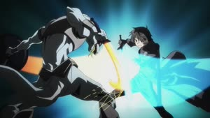 Rating: Safe Score: 27 Tags: animated artist_unknown creatures effects fighting sparks sword_art_online sword_art_online_series User: Ashita