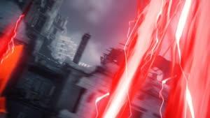 Rating: Safe Score: 26 Tags: 3d_background akio_shimotsukasa animated cgi effects god_eater god_eater_3 lightning mitsuru_obunai User: arekkusu