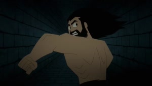 Rating: Questionable Score: 29 Tags: 3d_background animated artist_unknown cgi effects fighting liquid running samurai_jack samurai_jack_(2017) sparks western User: RatScum