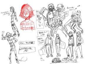 Rating: Safe Score: 10 Tags: character_design hiroyuki_imaishi kill_la_kill settei User: Xmax360