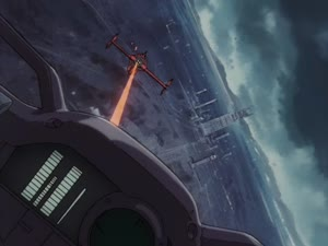 Rating: Safe Score: 5 Tags: animated artist_unknown beams cowboy_bebop effects explosions mecha missiles User: noots_