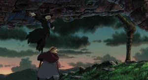 Rating: Safe Score: 15 Tags: animated character_acting fabric hideaki_yoshio howl's_moving_castle running User: NotSally