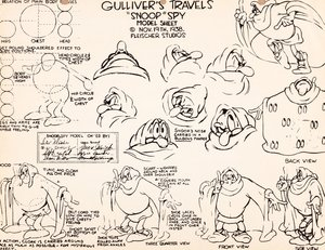 Rating: Safe Score: 2 Tags: artist_unknown character_design gulliver_travels settei western User: MMFS