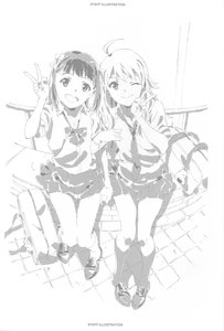 Rating: Safe Score: 11 Tags: illustration sunao_chikaoka the_idolm@ster User: Disgaeamad