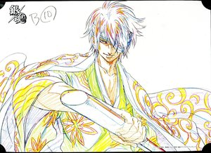 Rating: Safe Score: 0 Tags: genga gintama illustration presumed tadashi_oppata User: YGP