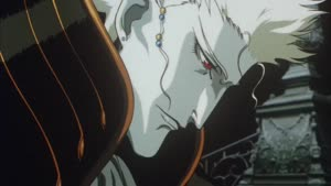 Rating: Safe Score: 10 Tags: animated artist_unknown effects fighting sparks vampire_hunter_d_bloodlust User: MMFS
