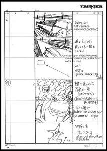 Rating: Safe Score: 3 Tags: black_dynamite hiroyuki_imaishi storyboard User: Xmax360