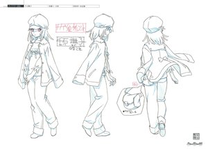 Rating: Safe Score: 3 Tags: akio_watanabe bakemonogatari character_design monogatari_series production_materials settei User: reftleg