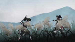 Rating: Safe Score: 35 Tags: animated artist_unknown dororo dororo_(2019) effects fighting sparks User: PurpleGeth
