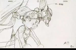 Rating: Safe Score: 30 Tags: animated dennou_coil genga production_materials takeshi_honda User: MMFS