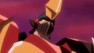 Rating: Safe Score: 9 Tags: animated effects fighting gaiking:_legend_of_daiku-maryu lightning mecha mitsuru_obunai presumed smoke User: Ashita