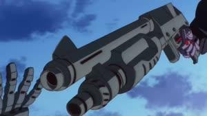 Rating: Safe Score: 9 Tags: animated effects fighting gundam gundam_g_no_reconguista hirotoshi_takaya mecha presumed smears smoke User: Kraker2k