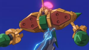 Rating: Safe Score: 15 Tags: animated artist_unknown beams code_geass code_geass_r2 effects explosions fighting lightning mecha smoke User: paeses