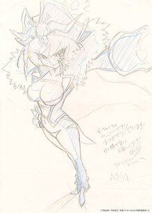 Rating: Safe Score: 11 Tags: artist_unknown genga uchuu_patrol_luluco User: KL14