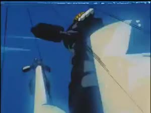 Rating: Safe Score: 10 Tags: animated beams debris effects explosions fire gekitou!_powered_armor impact_frames koji_ito mecha smoke User: nawaf
