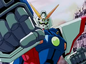 Rating: Safe Score: 15 Tags: animated artist_unknown character_acting gundam mecha mobile_fighter_g_gundam smears User: Asden