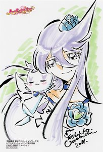 Rating: Safe Score: 3 Tags: heartcatch_precure! illustration precure yoshihiko_umakoshi User: Xmax360