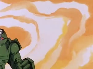 Rating: Safe Score: 2 Tags: animated armored_trooper_votoms debris effects explosions mecha missiles smoke toru_yoshida User: noots_