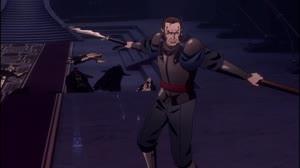 Rating: Safe Score: 195 Tags: animated castlevania castlevania_season_2 chengxi_huang effects explosions fighting impact_frames kathan_chai smears smoke western User: dragonhunteriv