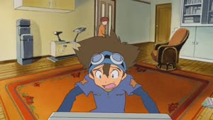Rating: Safe Score: 55 Tags: animated artist_unknown character_acting digimon digimon_adventure_bokura_no_war_game User: magic