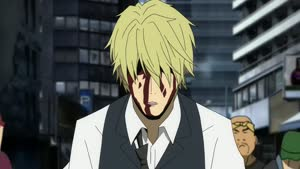 Rating: Safe Score: 48 Tags: animated artist_unknown durarara!! fighting smears User: YGP