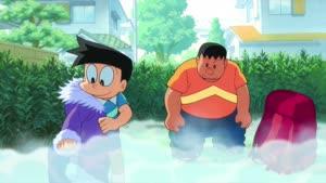 Rating: Safe Score: 1 Tags: animated artist_unknown character_acting doraemon doraemon:_nobita_no_nankyoku_kachikochi_daibouken fabric User: Ashita