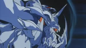 Rating: Safe Score: 3 Tags: animated artist_unknown daimaju_gekito_hagane_no_oni effects fighting masami_obari mecha presumed User: MMFS
