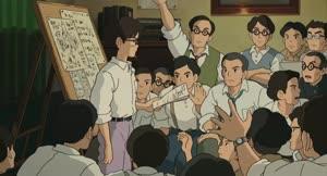 Rating: Safe Score: 20 Tags: animated character_acting crowd kiyotaka_oshiyama the_wind_rises User: dragonhunteriv